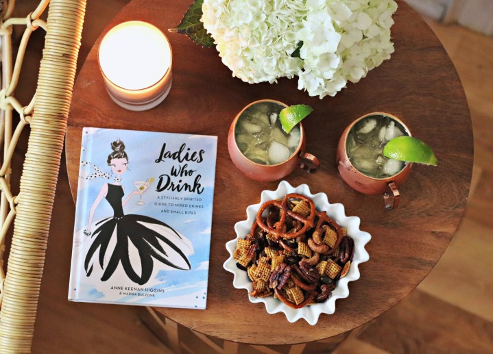 Ladies Who Drink: A Stylishly Spirited Guide to Mixed Drinks and Small Bites + Win a copy!