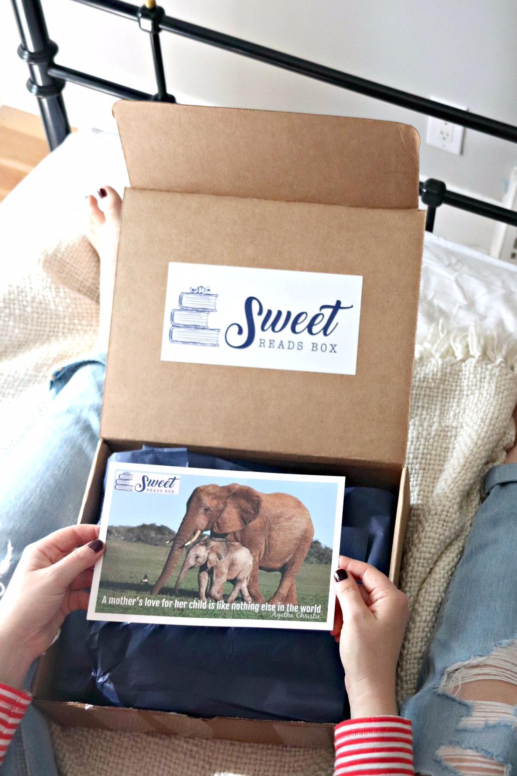 Sweet Reads Box September 2017 opening