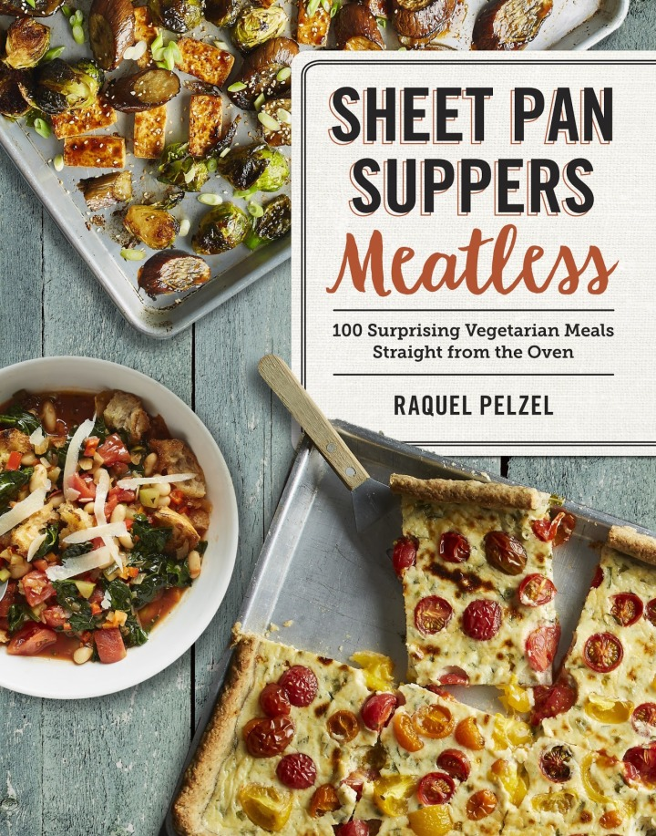 Sheet Pan Suppers Meatless + Win a copy!
