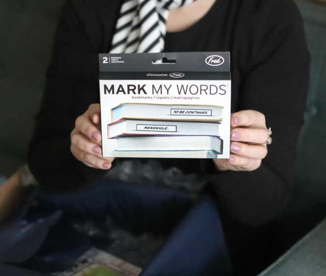 Sweet Reads Box October Mark My Words Bookmarks