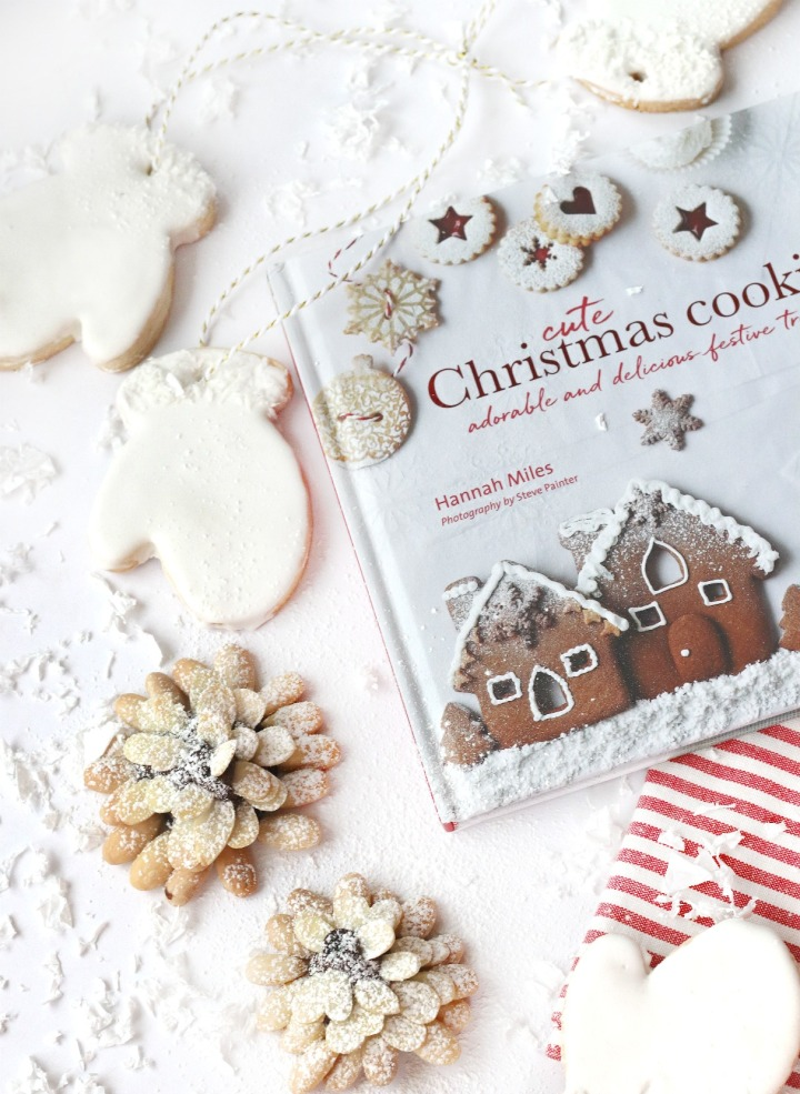 Cute Christmas Cookies by Hannah Miles cookie close up