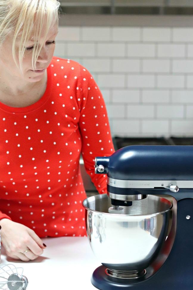 KitchenAid Artisan mini side view closer up