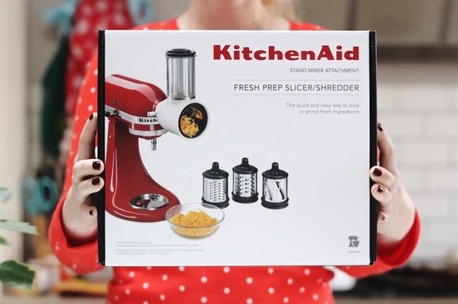 KitchenAid Fresh Prep Slicer:Shredder Stand Mixer Attachment
