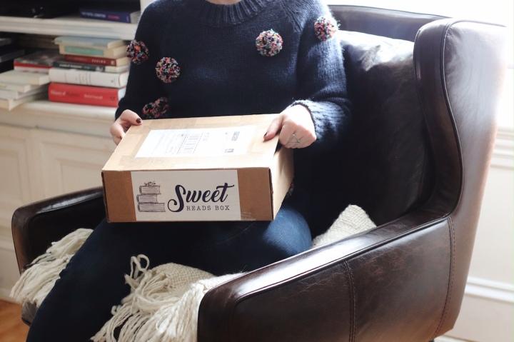 What's inside November's Sweet ReadsBox