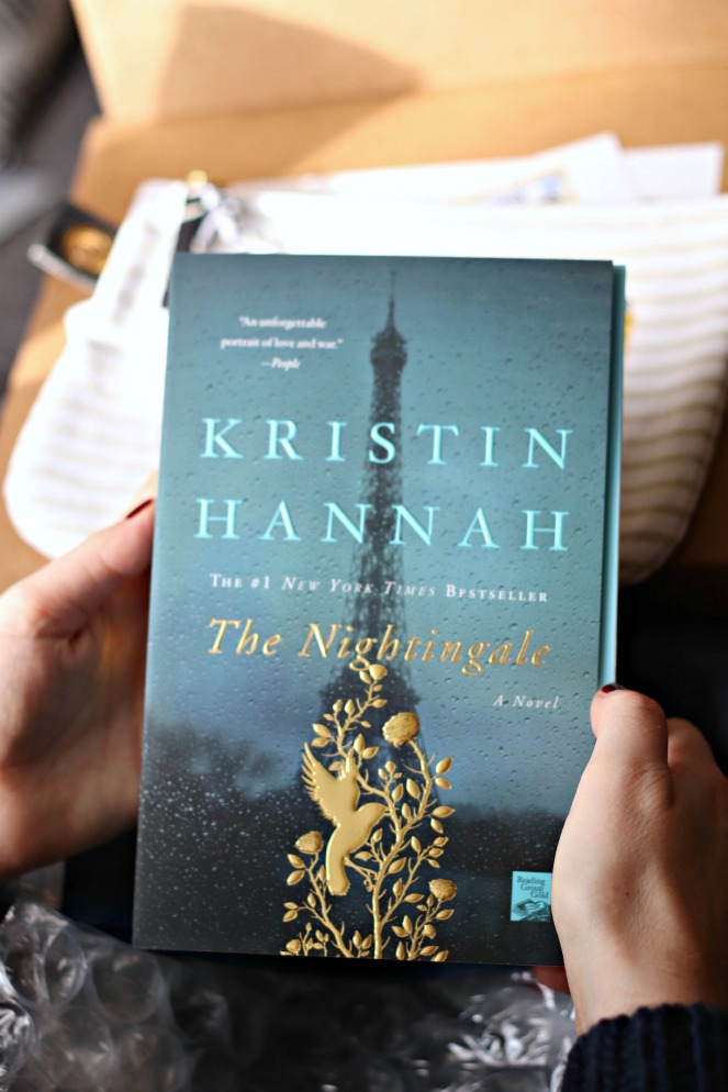 Sweet Reads Box November 2017 The Nightingale by Kristin Hannah