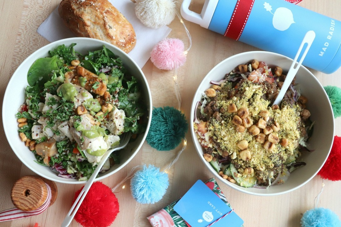 Mad Radish two salads feature image