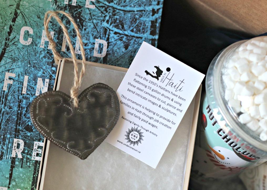 Sweet Reads Box Under One Sun heart ornament