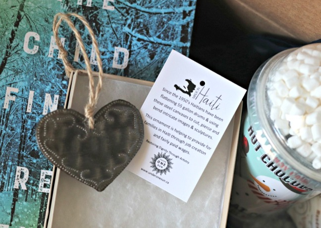 Sweet Reads Box Under One Sun heart ornament