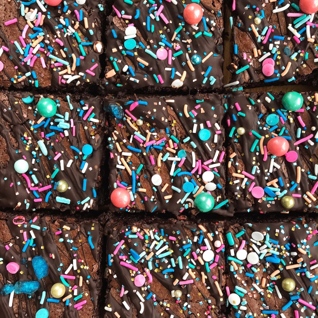 Amazing Chocolate Brownies from Tanya Bakes by Tanya Burr