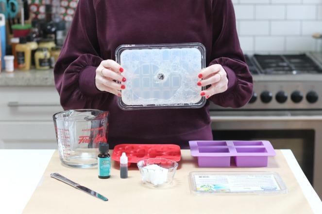 DIY valentine soap glycerin soap base