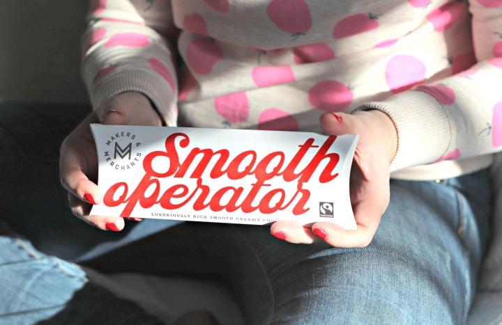 Sweet Reads Box Jan 18 Makers & Merchants Smooth Operator milk chocolate