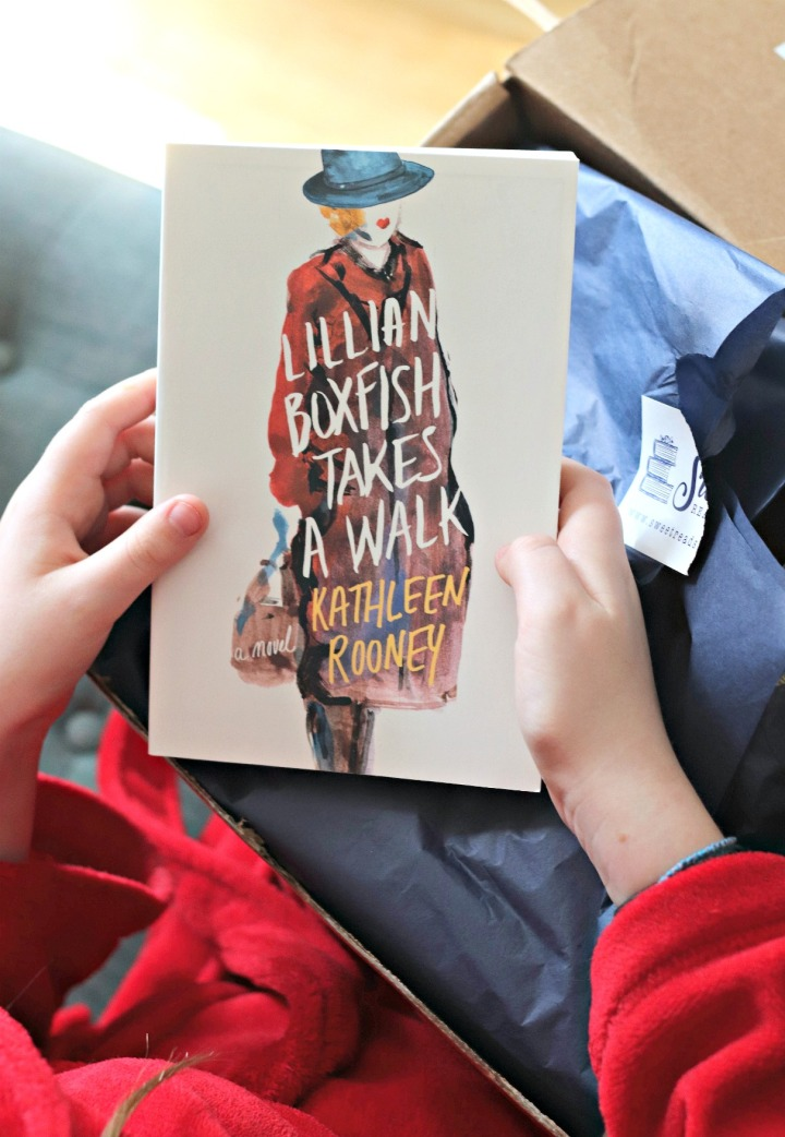 Sweet Reads Box March 2018 Lillian Boxfish Takes A Walk by Kathleen Rooney