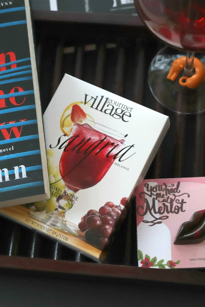 Sweet Reads Box April 2018 Gourmet Village Sangria Mix brighter