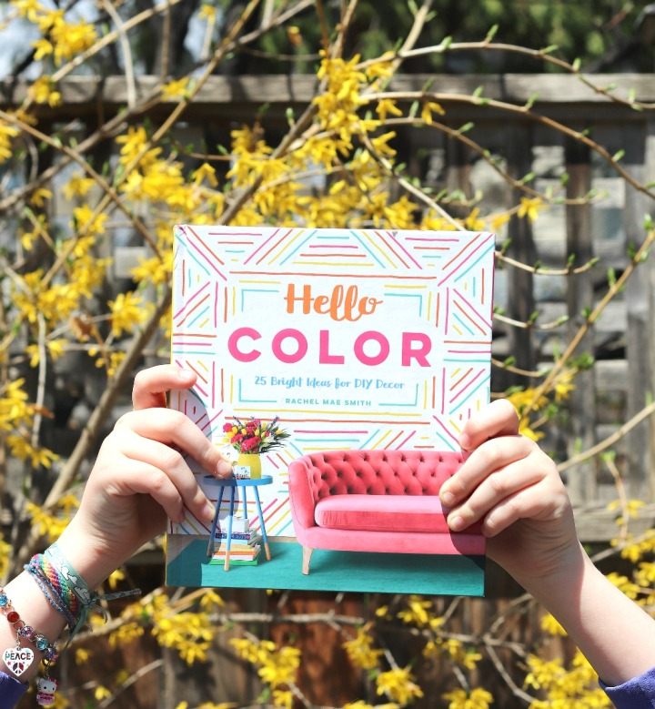 Hello Color: 25 Bright Ideas for DIY Decor by Rachel Mae Smith