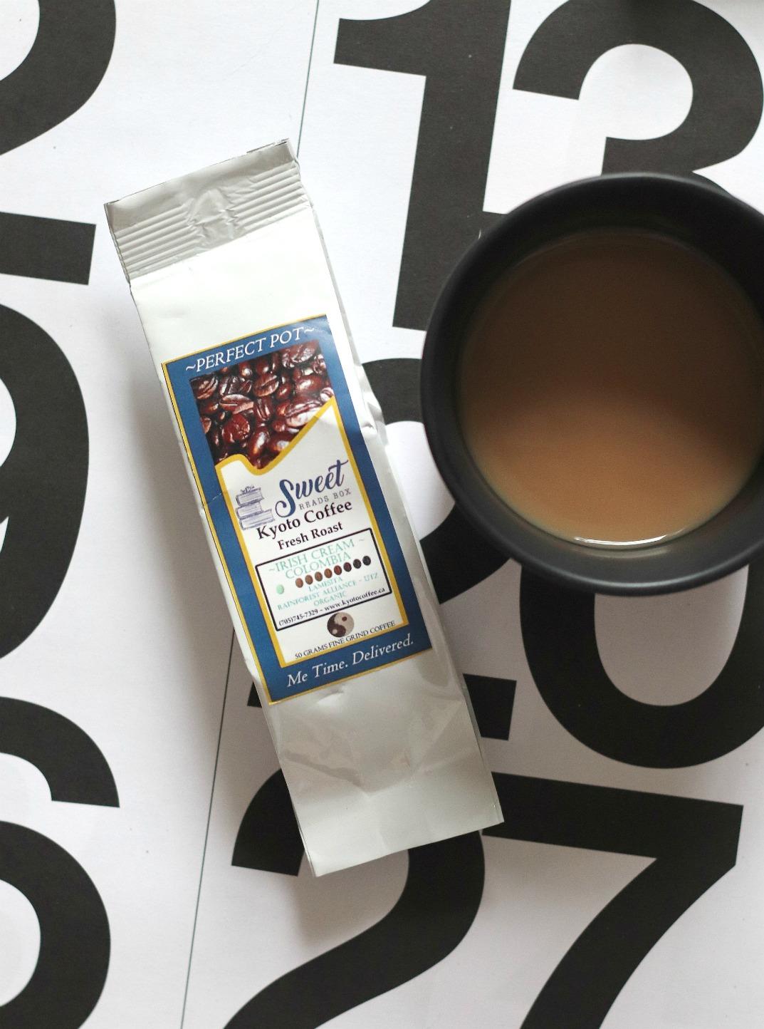 Sweet Reads Box May 2018 Kyoto Coffee Irish Cream