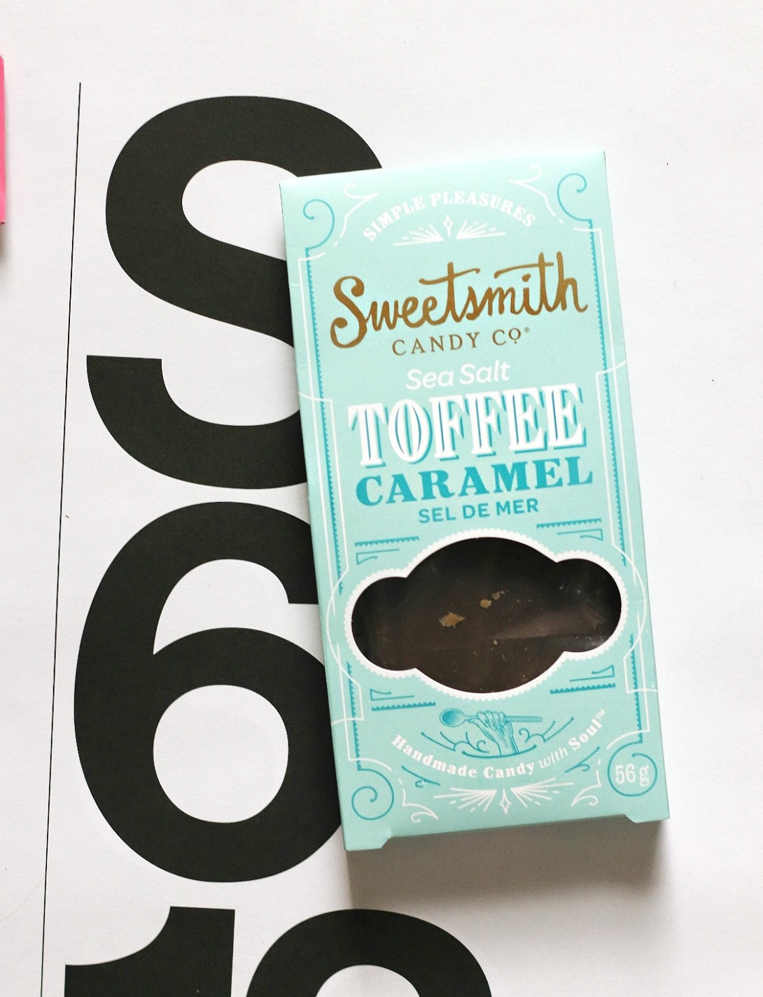 Sweet Reads Box May 2018 Sweetsmith Sea Salt Toffee Caramel 2