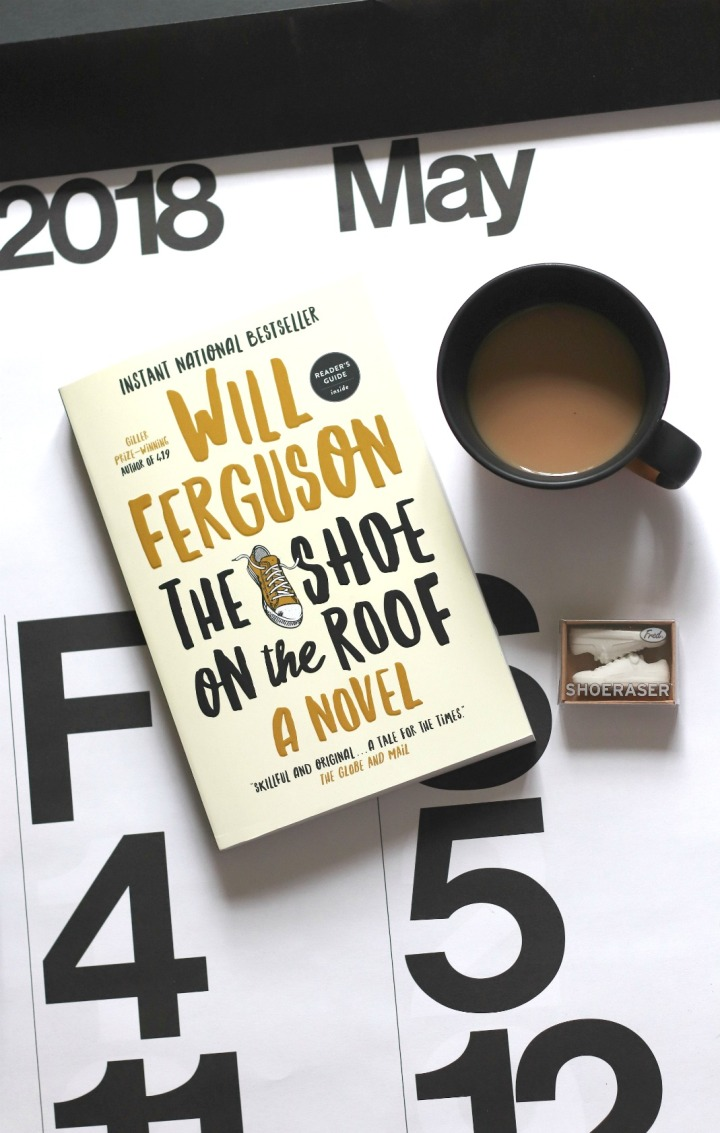 Sweet Reads Box May 2018 The Shoe on the Roof by Will Ferguson