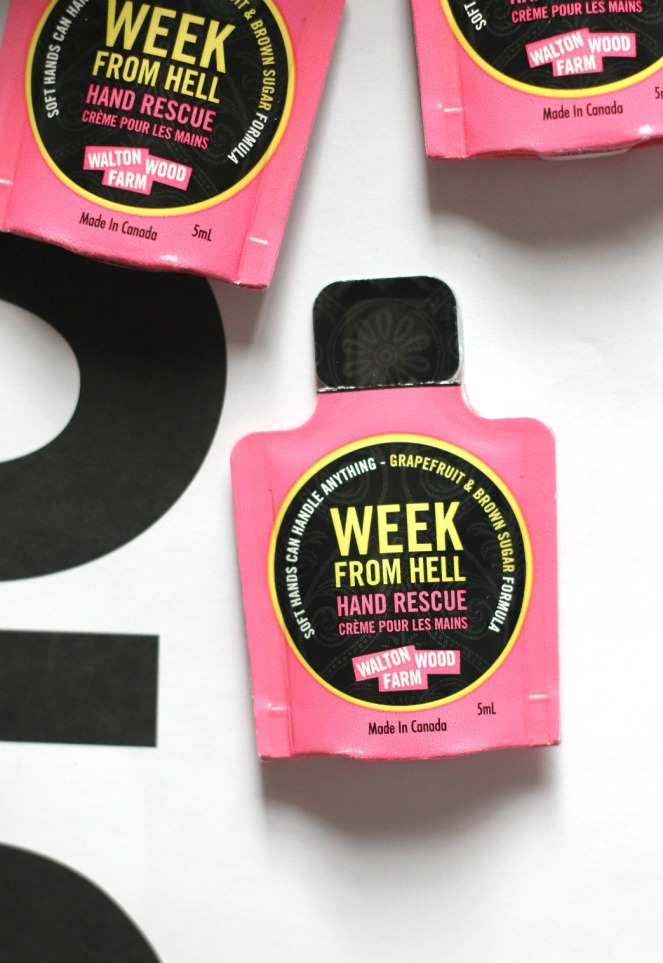Sweet Reads Box May 2018 The Week From Hell Hand Lotion Walton Wood Farm