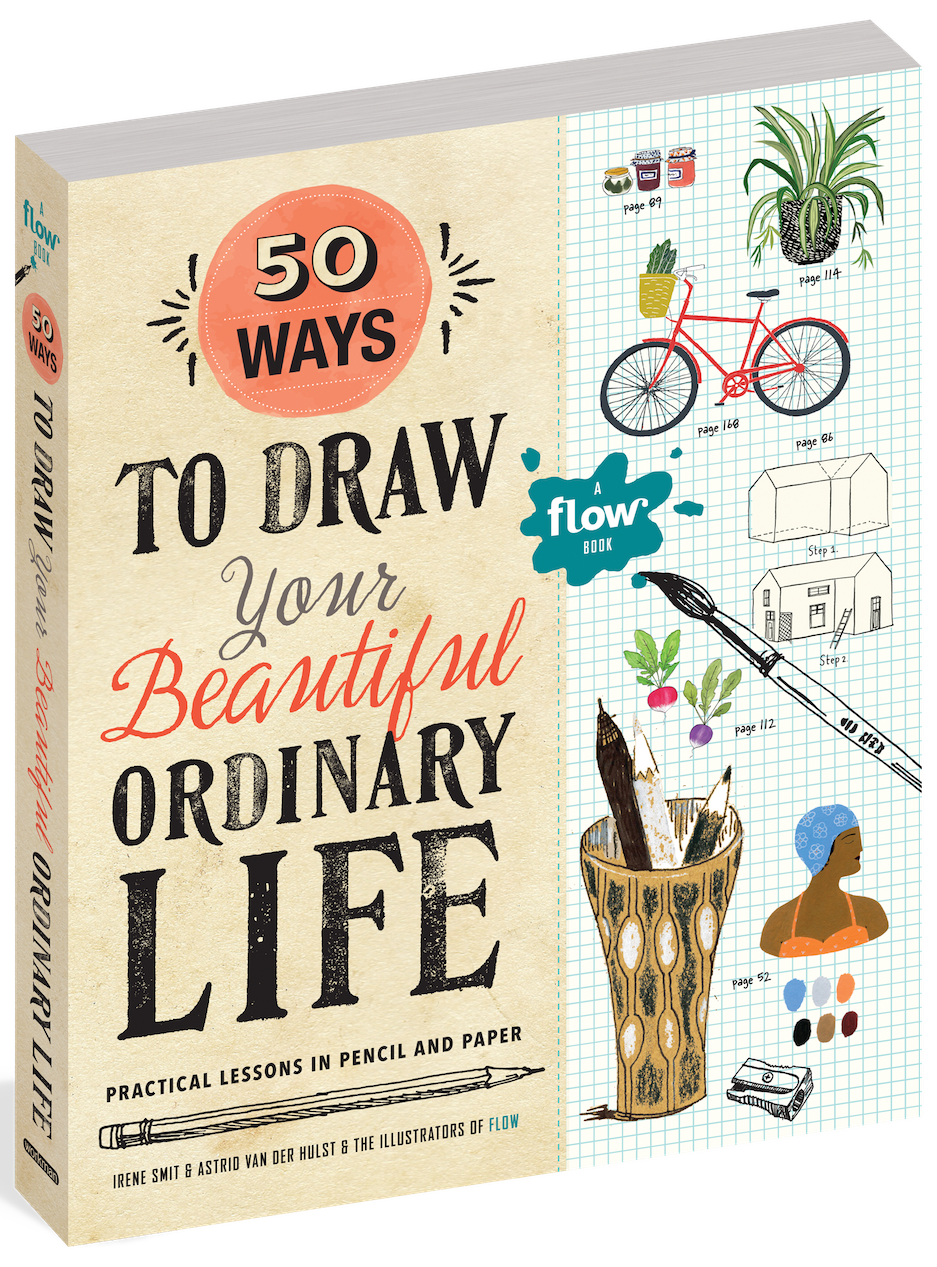 50 Ways To Draw Your Beautiful Ordinary Life official cover