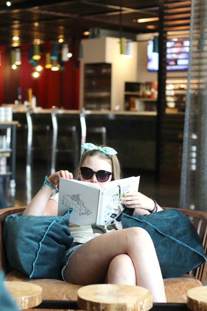 Alt Hotel Lily lobby reading 2