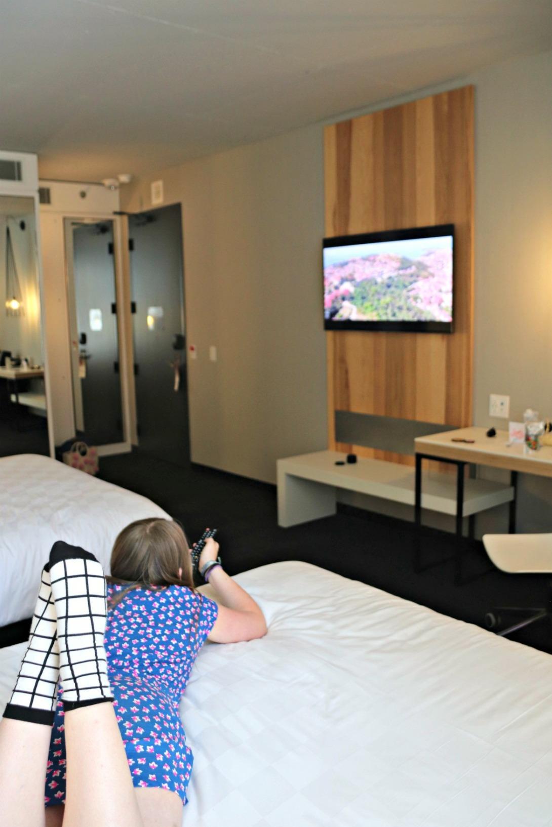 Alt hotel tv