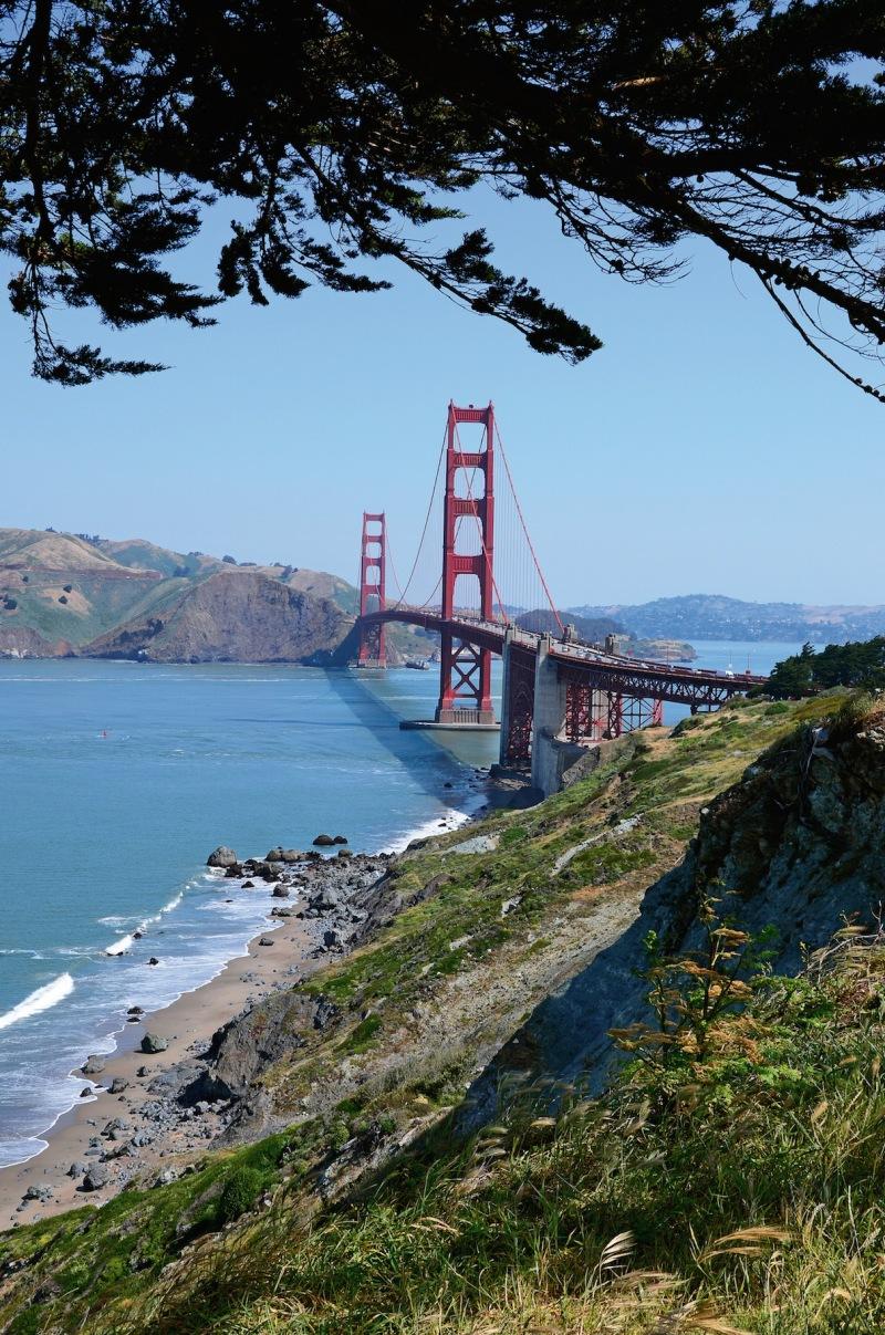 Golden Gate Bridge from San Francisco