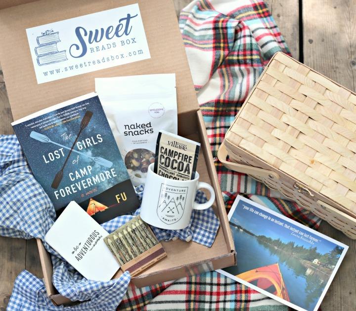 What's inside June's Sweet ReadsBox
