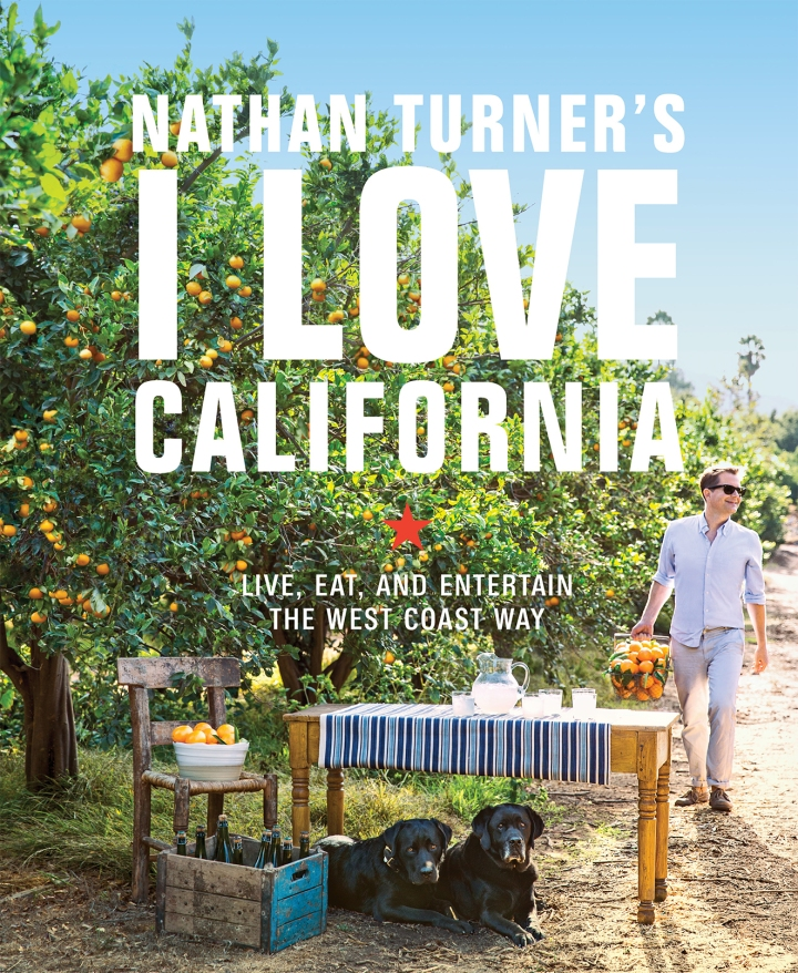 Nathan Turner's I Love California official cover