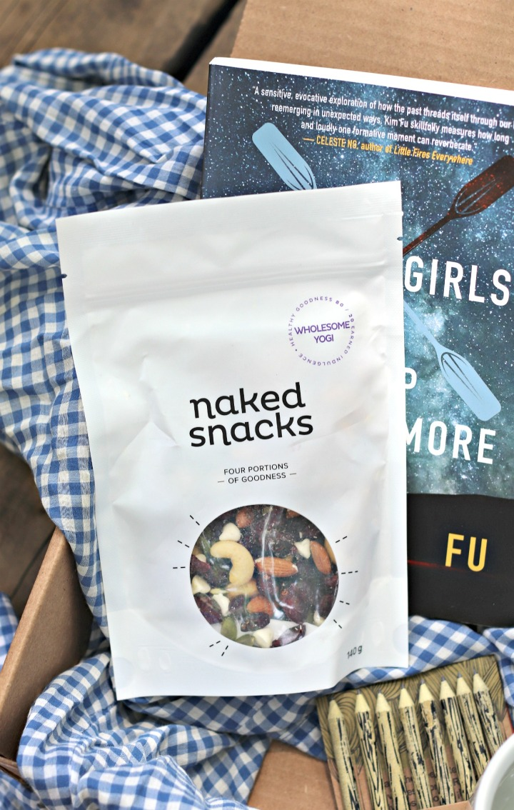 Sweet Reads Box June 18 Naked Snacks Wholesome Yogi