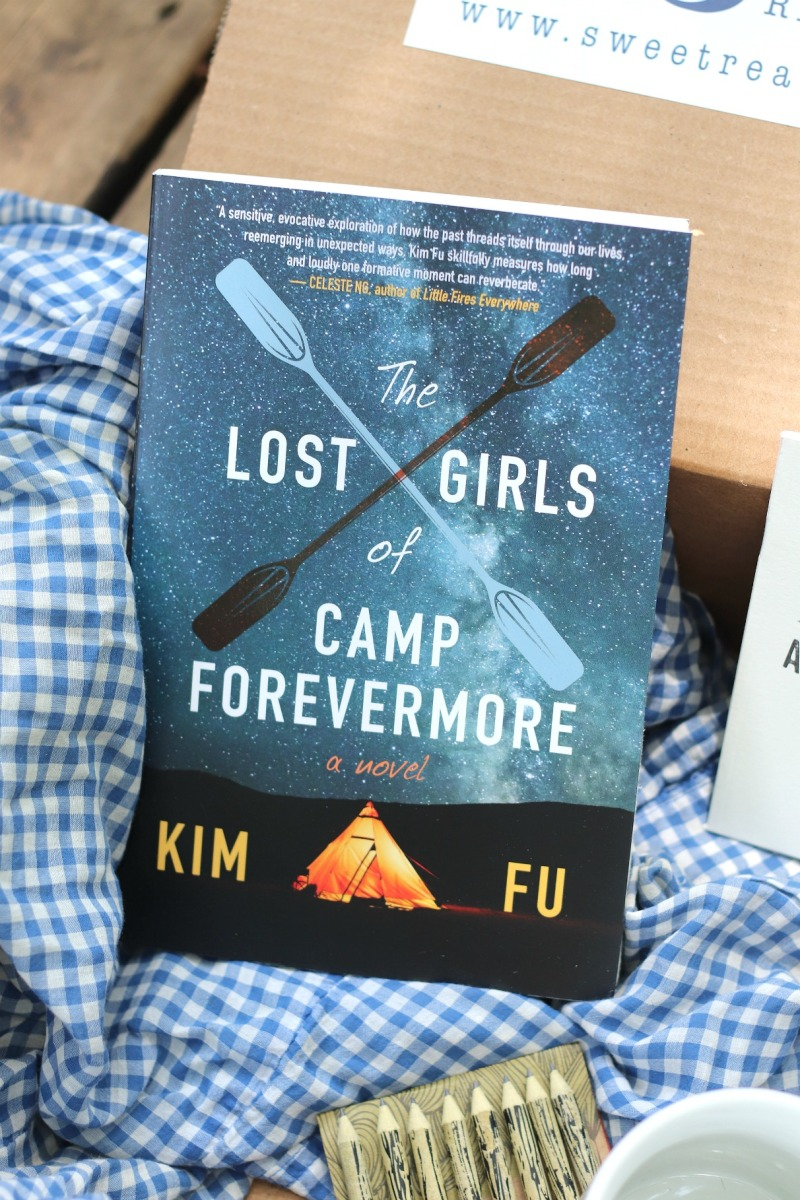 Sweet Reads Box June 18 The Lost Girls of Camp Forevermore by Kim Fu