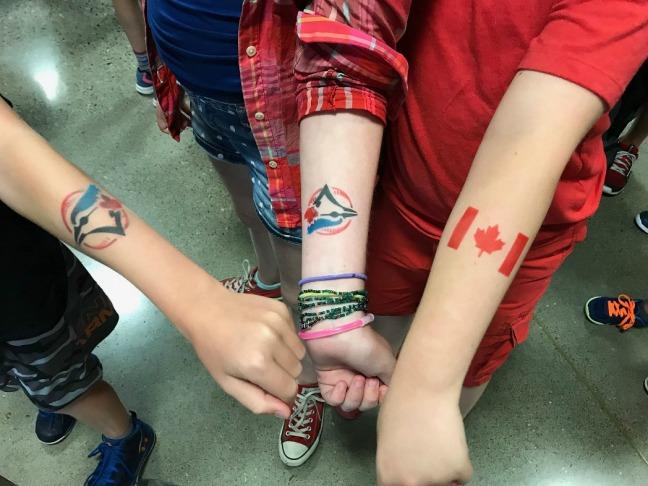 Blue Jays tattoos