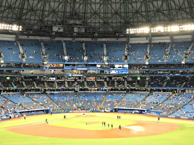 skydome jays game
