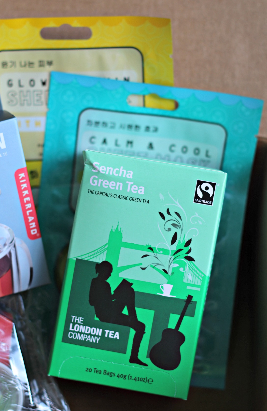 Sweet Reads Box July 2018 Sencha Green Tea