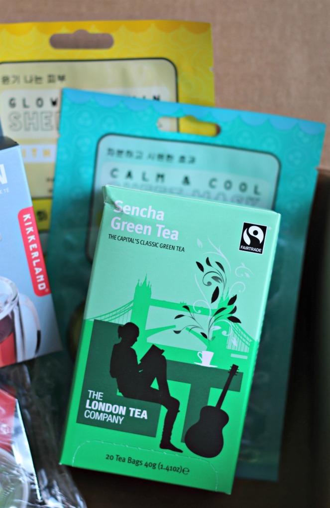 Sweet Reads Box July 2018 Sencha Green Tea