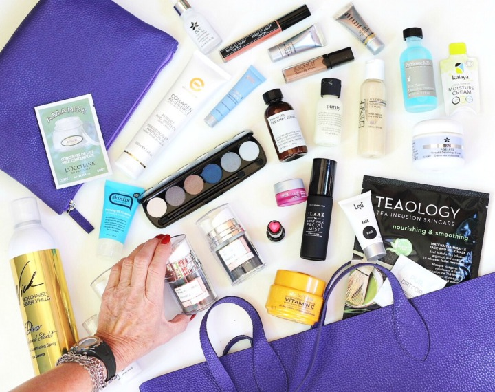 TSC July Beauty Tote ft image brighter