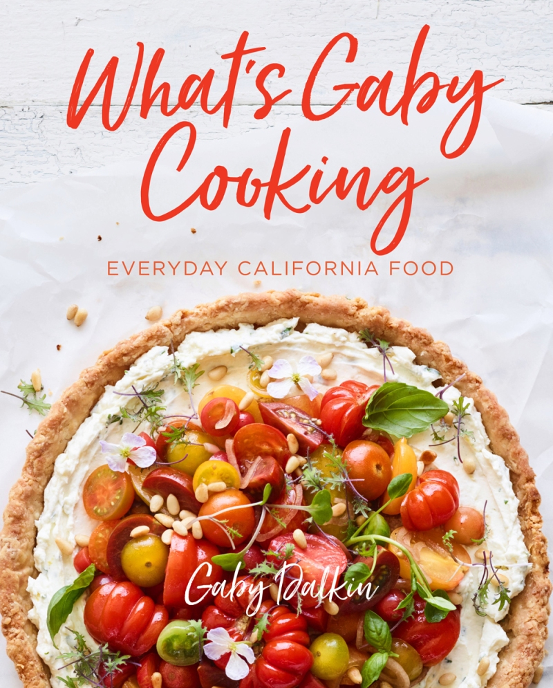 What's Gaby Cooking official cover from Abrams