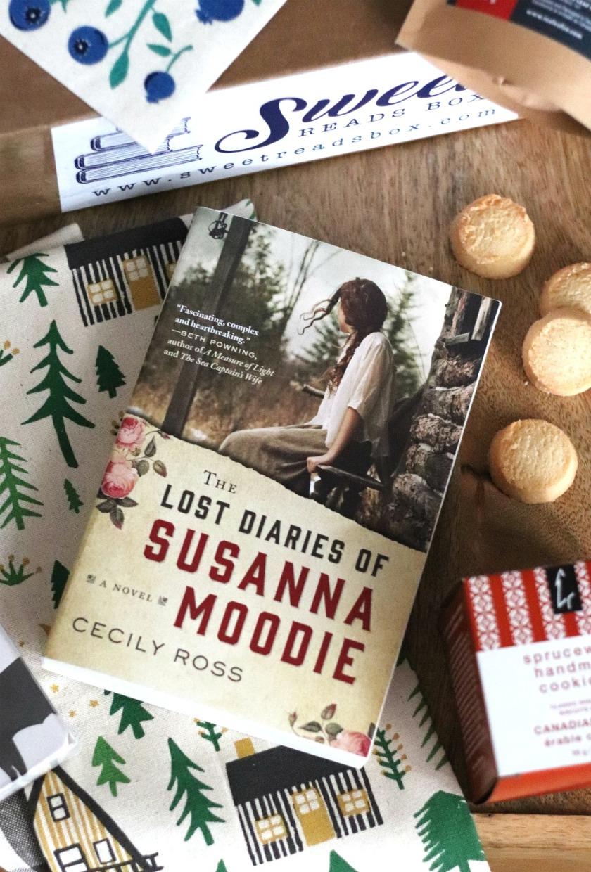 Sweet Reads Box August 2018 The Lost Diaries of Susanna Moodie
