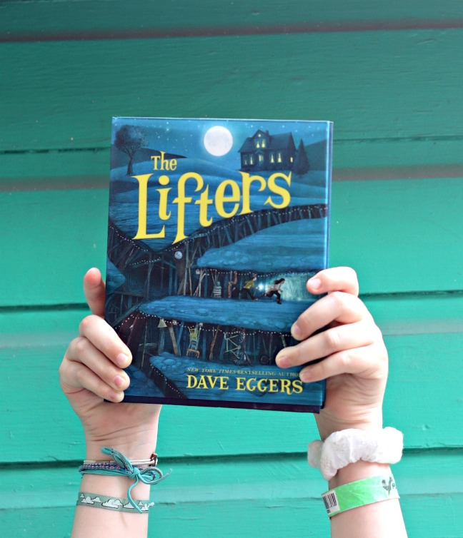 The Lifters Dave Eggers close up