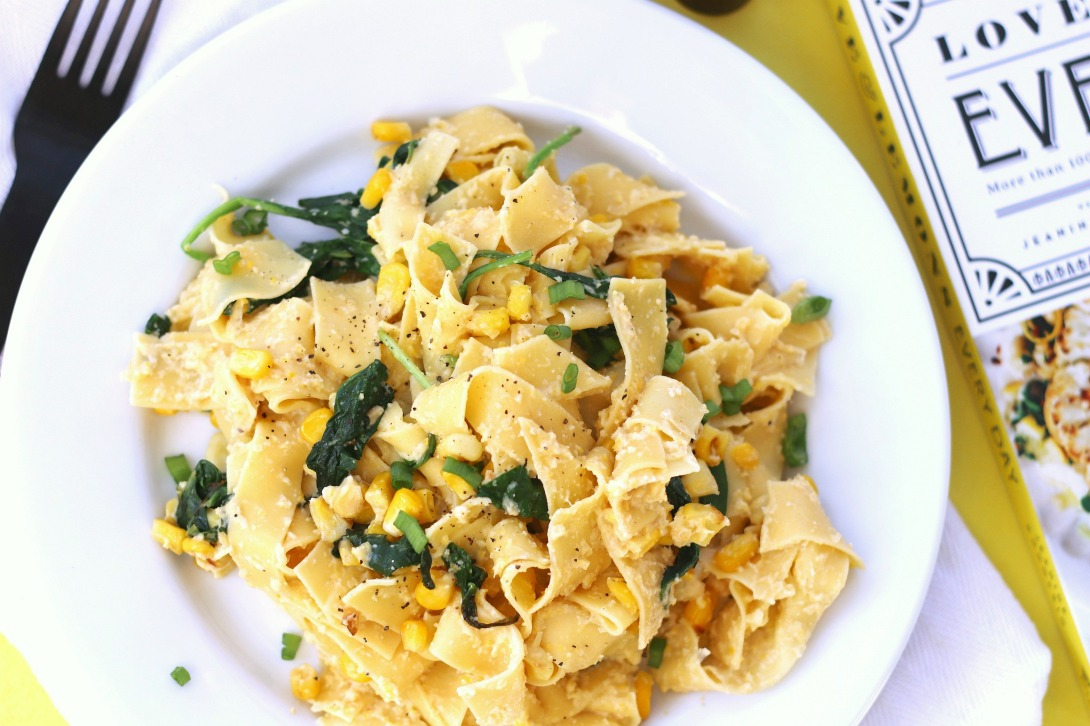 Love & Lemons Every Day Creamy Sweet Corn Pappardelle 4