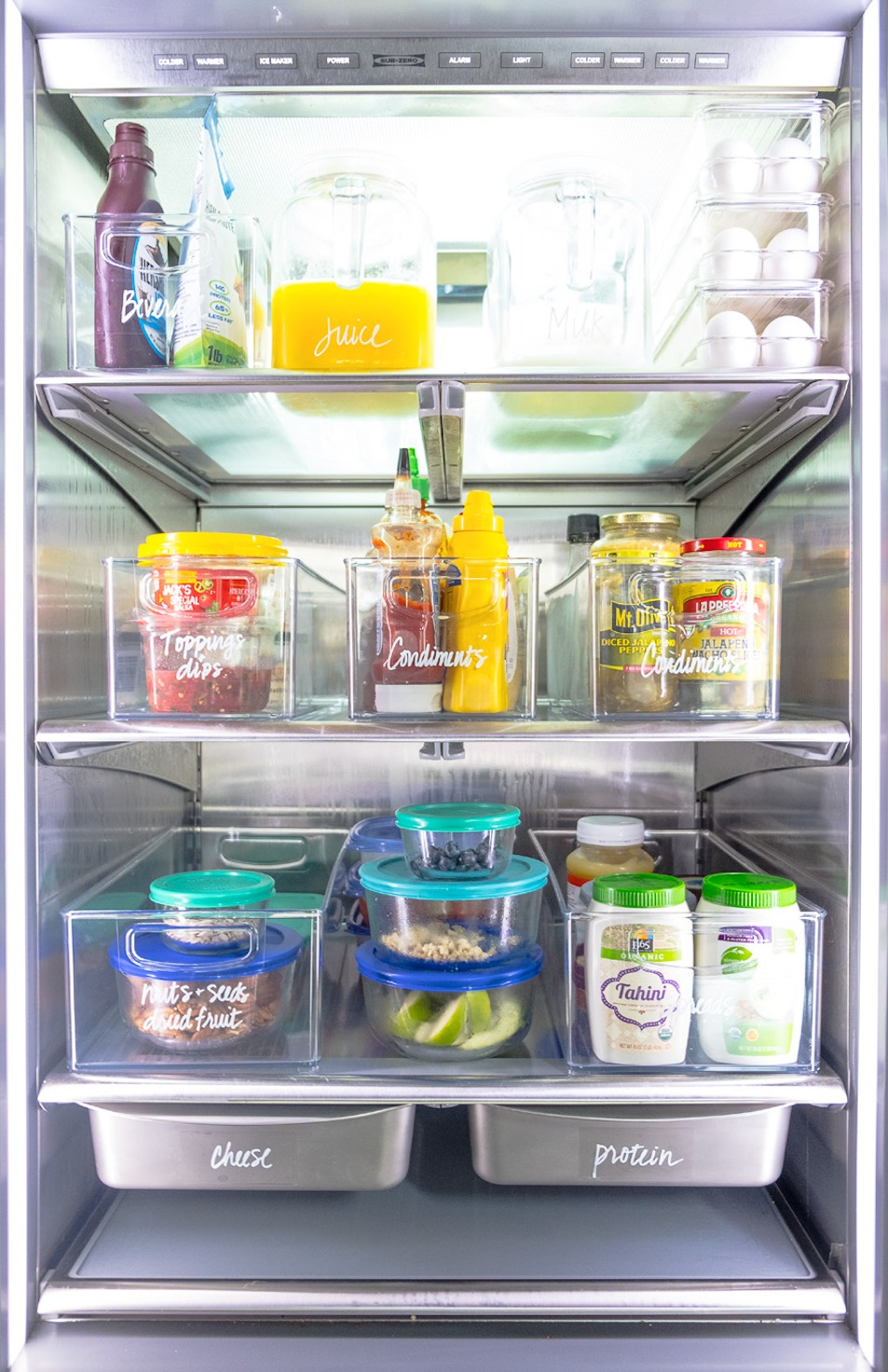 The Home Edit Includes Refrigerator  Labels A Guide to Organizing and Realizing Your House Goals