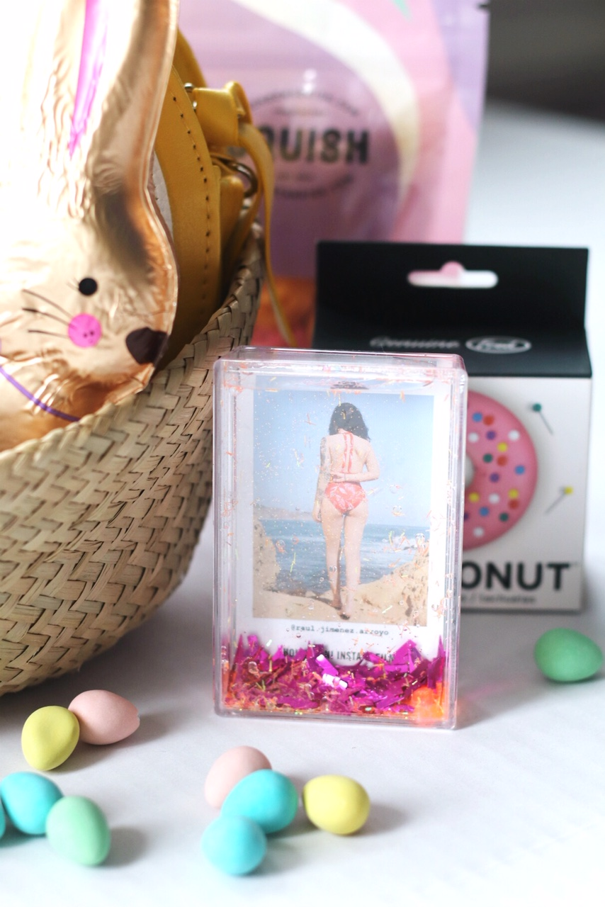 Easter basket for tween picture frame brighter