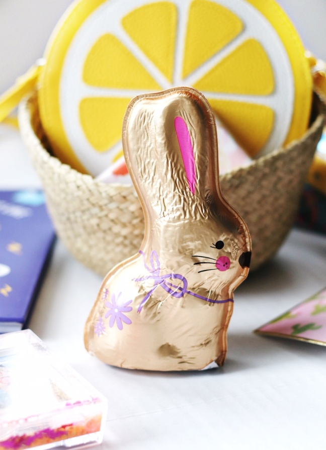 Easter basket for tween Purdys bunny brighter