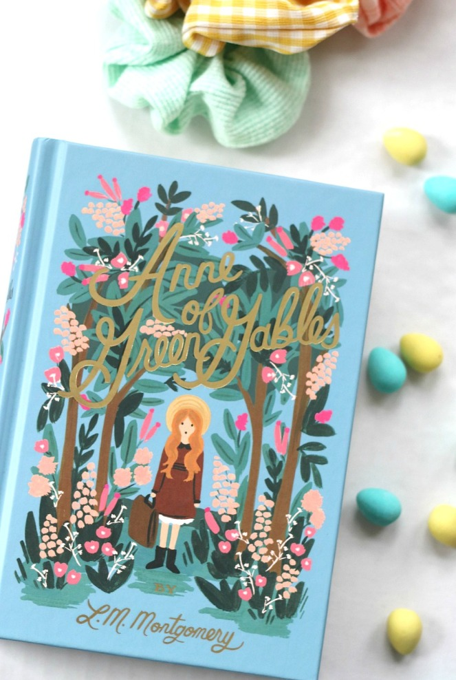 Easter basket tween Anne of Green Gables brighter