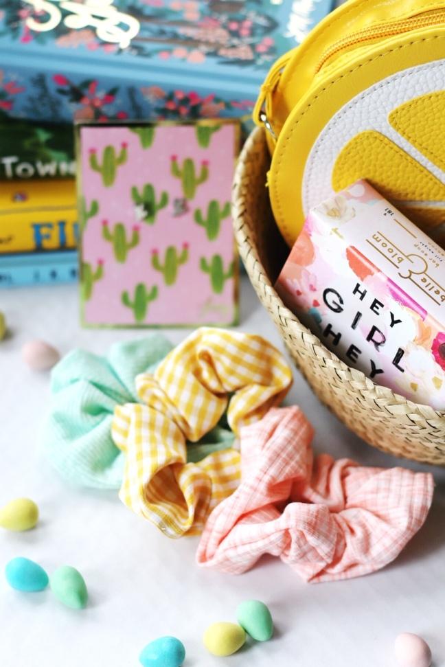 Easter basket tween scrunchies brighter
