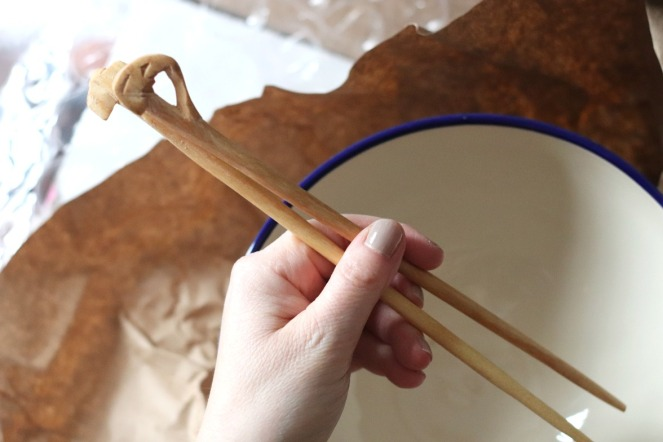 GlobeIn Slurp Box chopsticks