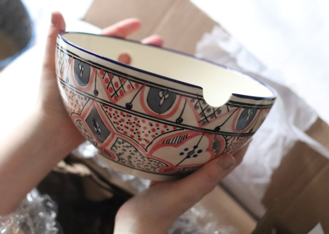 GlobeIn Slurp Box Sana Noodle Bowl unwrapped