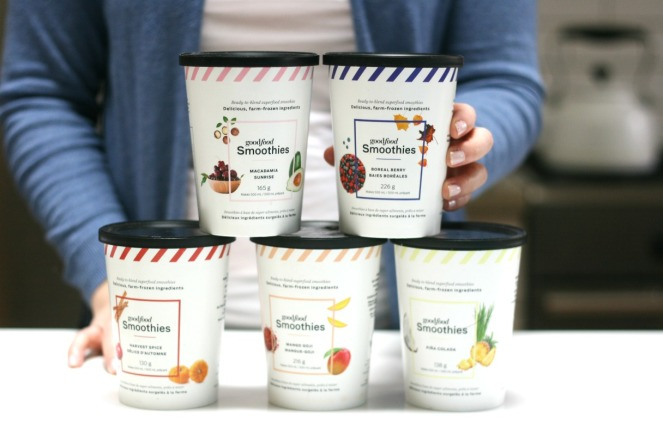 Goodfood Smoothies five flavours