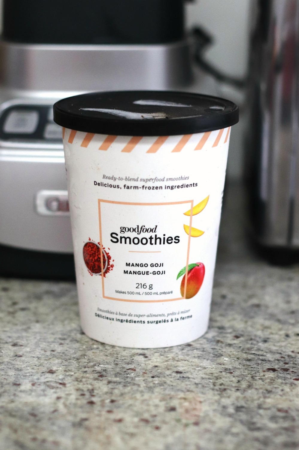 Goodfood Smoothies Mango Goji in container