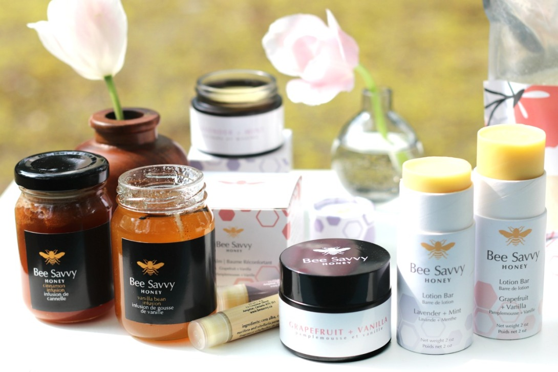Bee Savvy Honey assorted products