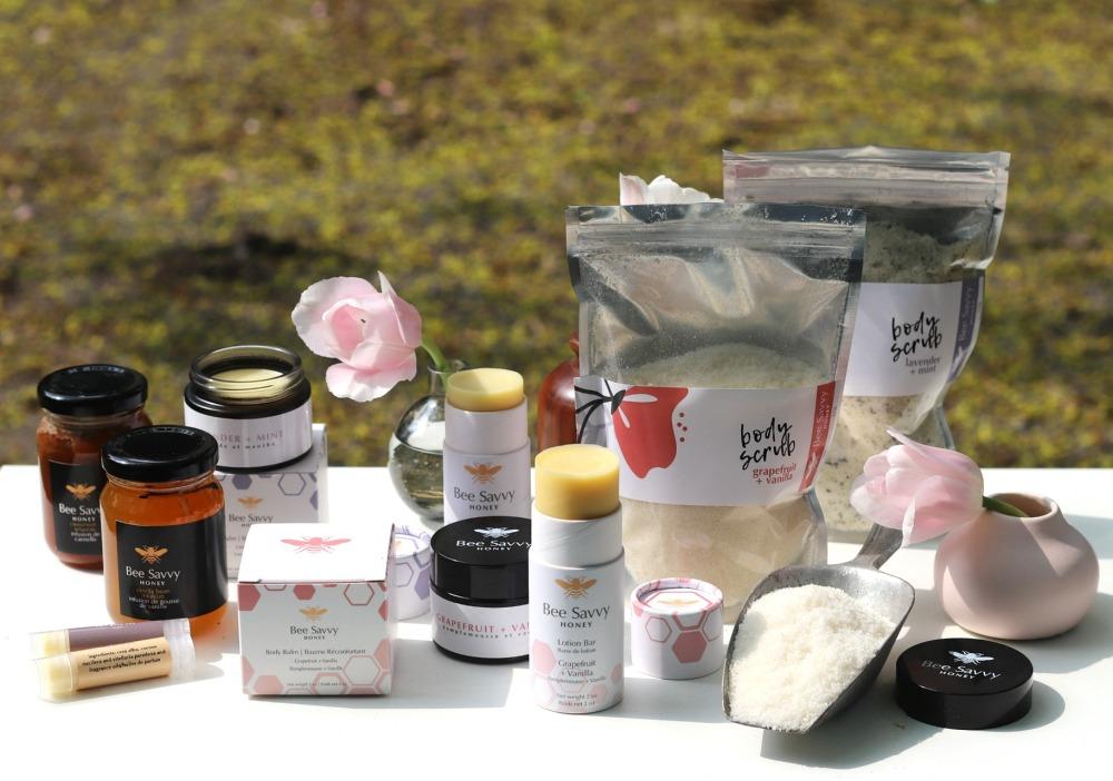 Bee Savvy Honey variety of products horizontal